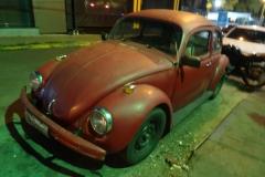 Ein fahrtüchtiger Käfer in Cuiabá