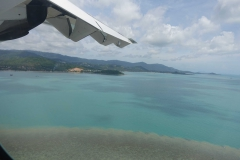 Landeanflug auf Koh Samui