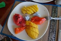 Ananas, Mango, Papaya, Wassermelone
