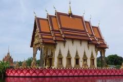 Tempel mit Urnengräbern