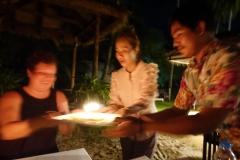 Kerze ausblasen und was wünschen