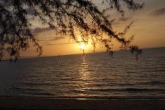 Sonnenuntergang im Süden von Samui