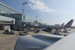 Flughafen Frankfurt kurz vor dem Start