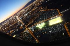 Las Vegas im Landeanflug