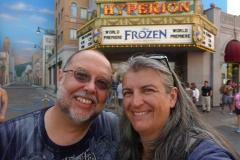 Reiner und Monica for dem Hyperion kurz vor der Frozen Vorstellung