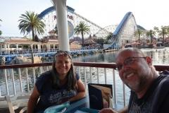 Unser toller Tisch mit super Aussicht in Ariels Grotte