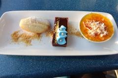 Das extrem leckere Dessert in Ariels Grotte