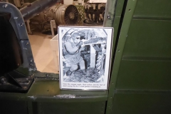 B-17-Bordschütze_Baden in Patronenhülsen