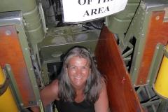 B-17-Glücksfee an Board