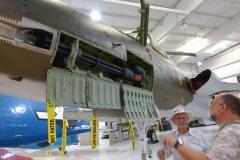 Vulcan Maschinenkanone einer F-105 _THUNDERCHIEF mit 6000 Schuss pro min