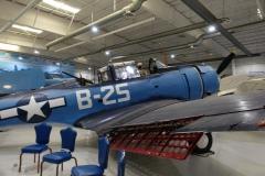 gut erhaltenes Träger-Torpedoflugzeug