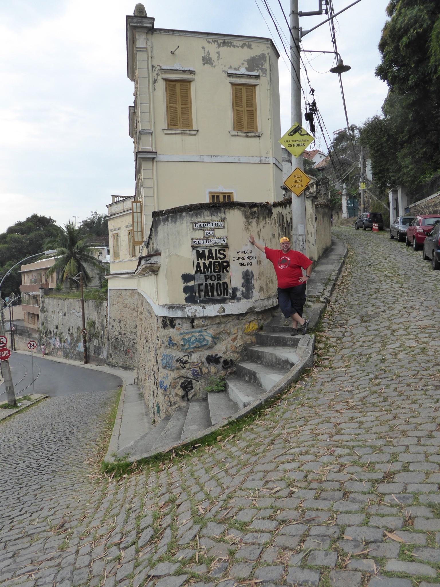 Reiner in Santa Teresa, an der Strasse zum Rio Panoramic
