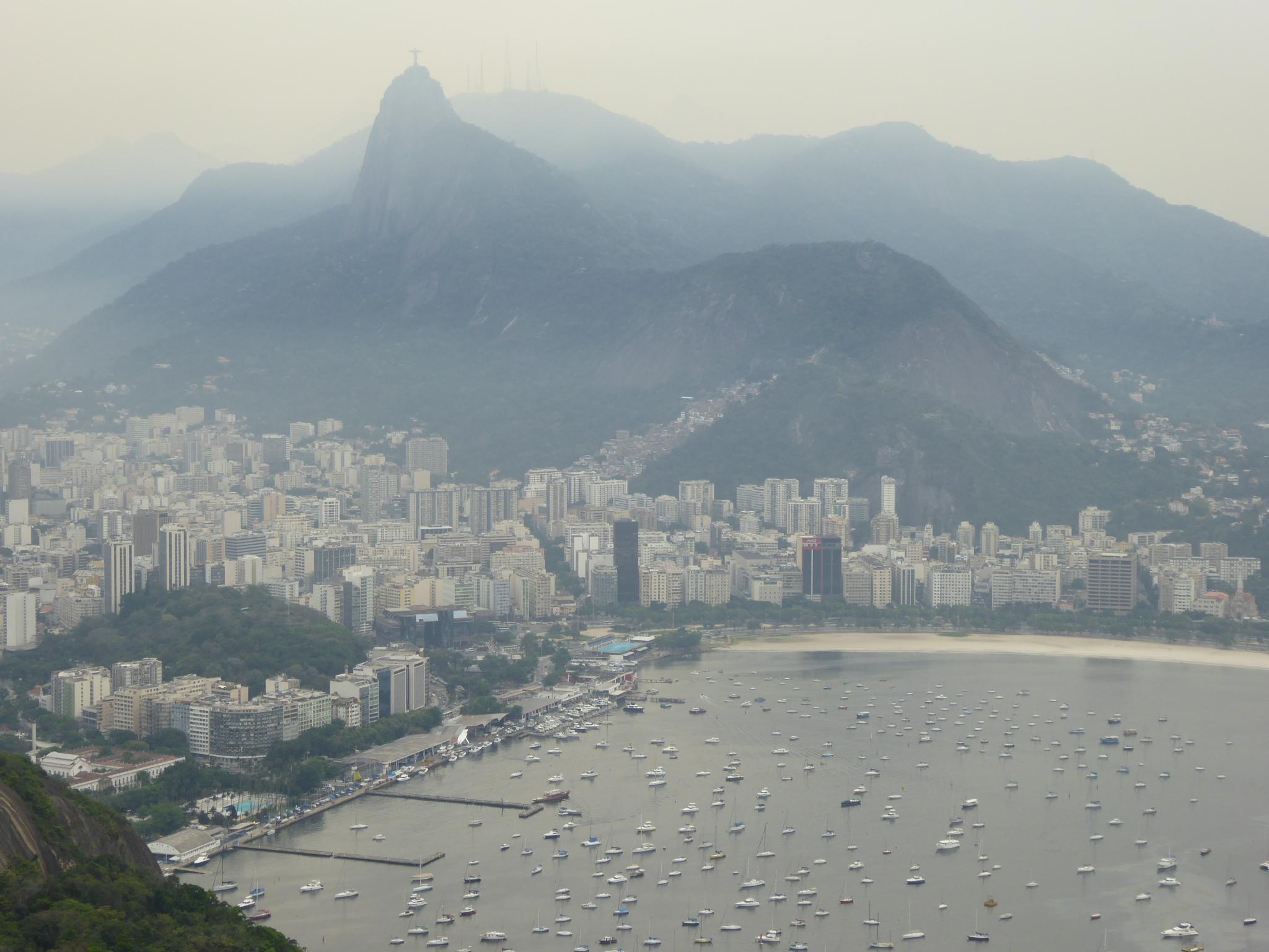 Rio de Janeiro vom Zuckerhut aus gesehen