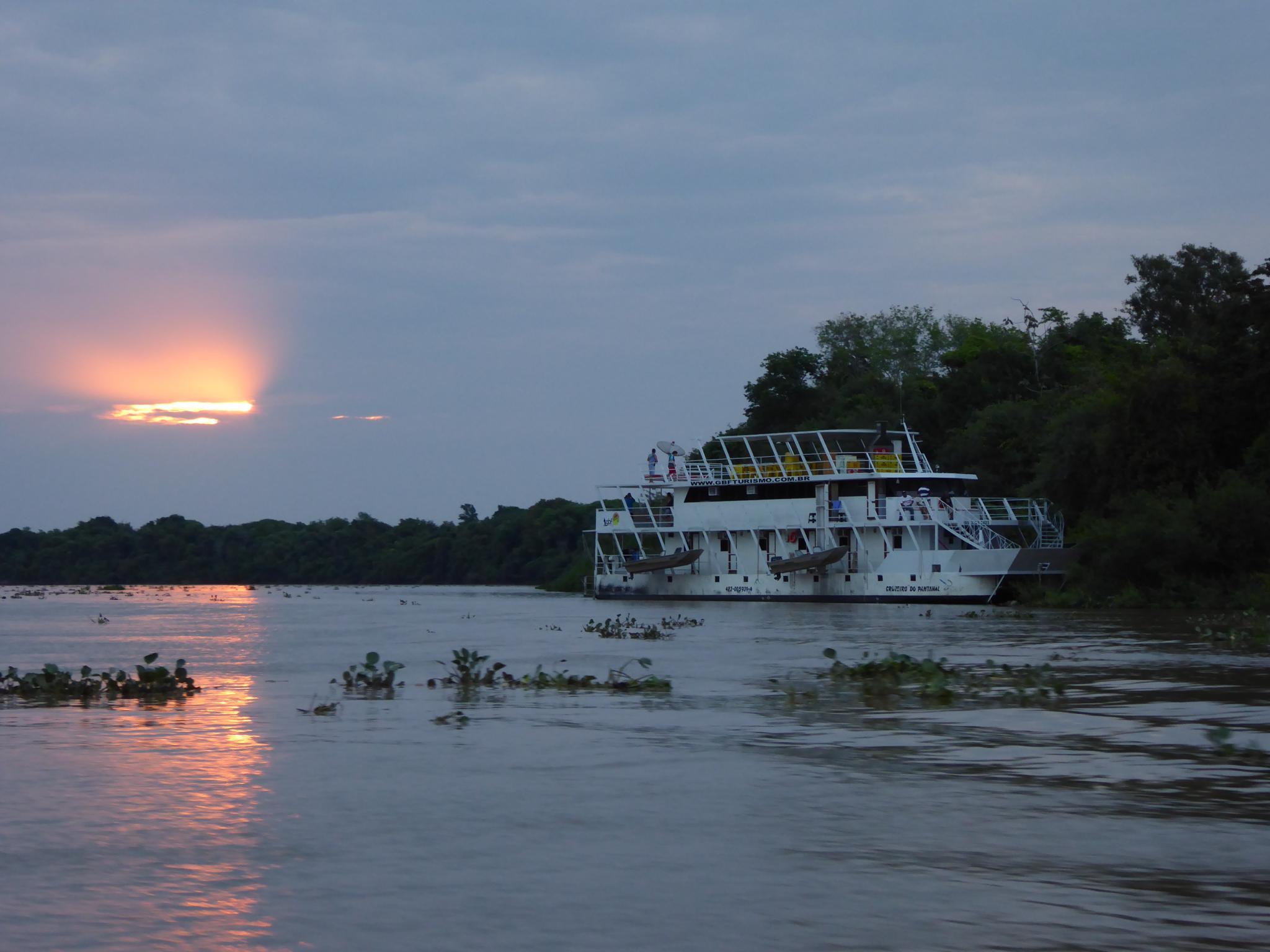 Abendstimmung im Pantanal
