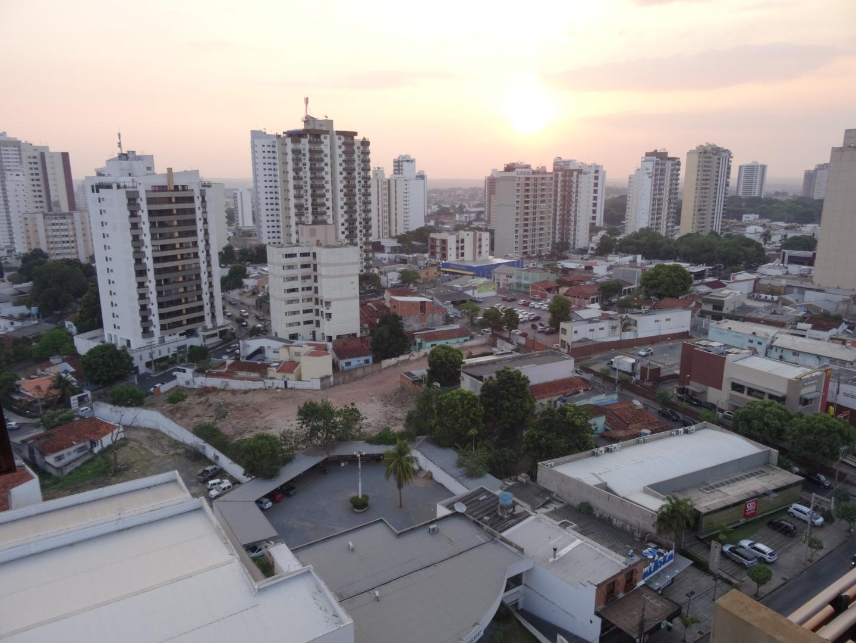Cuiabá vom Zimmer aus gesehen