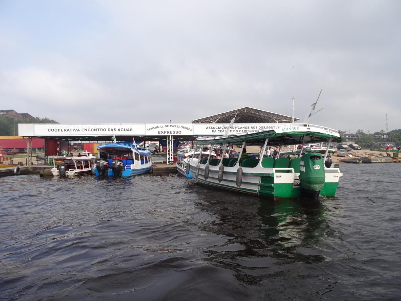 Der Hafen von Manaus