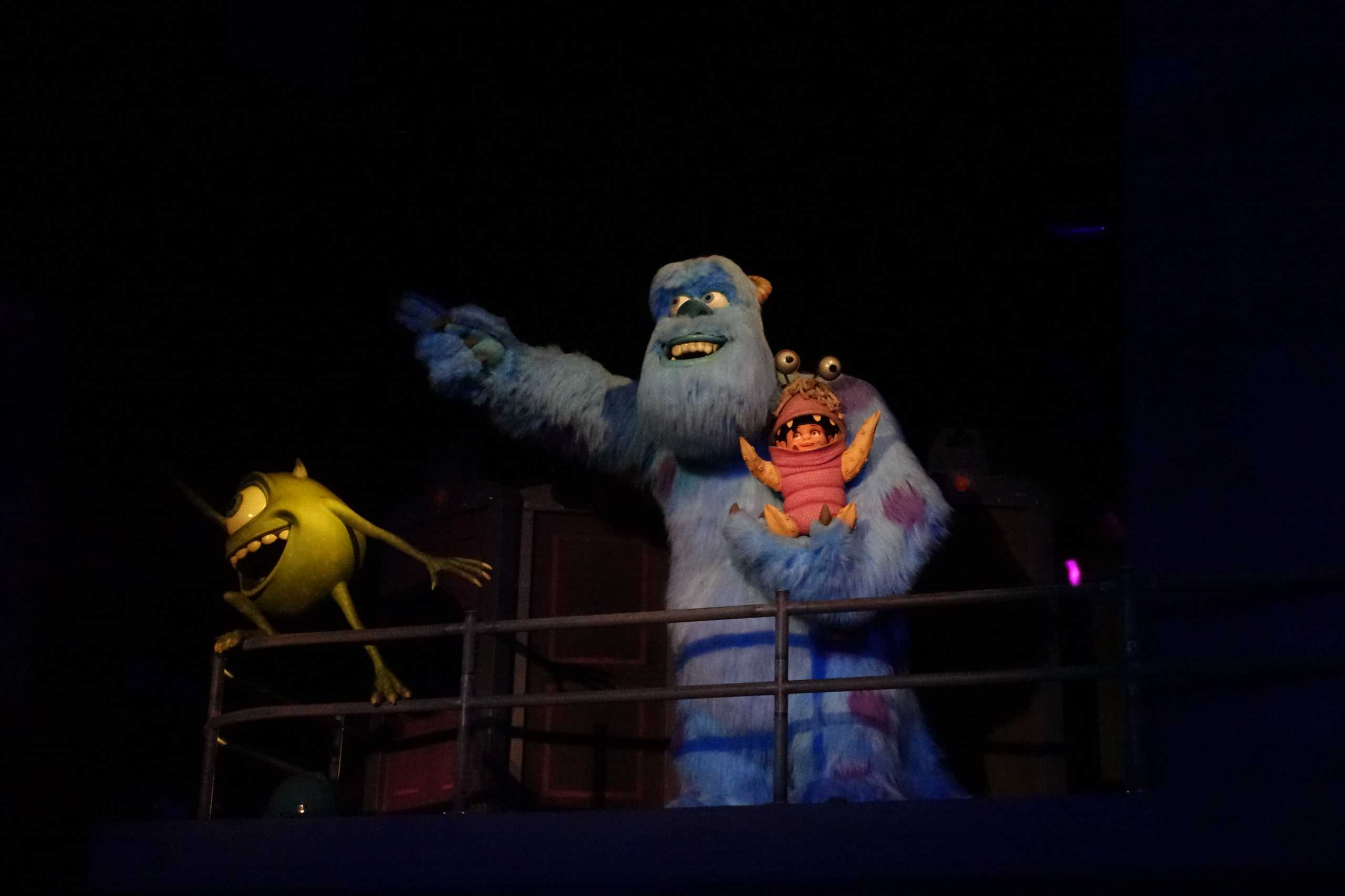 Mike und Sulley aus Monsters Inc.