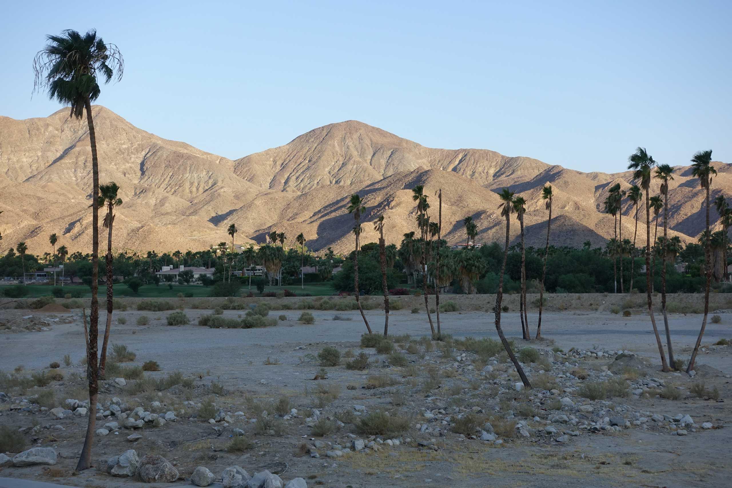 Aussicht aus dem Zimmer, Palm Canyon Ressort