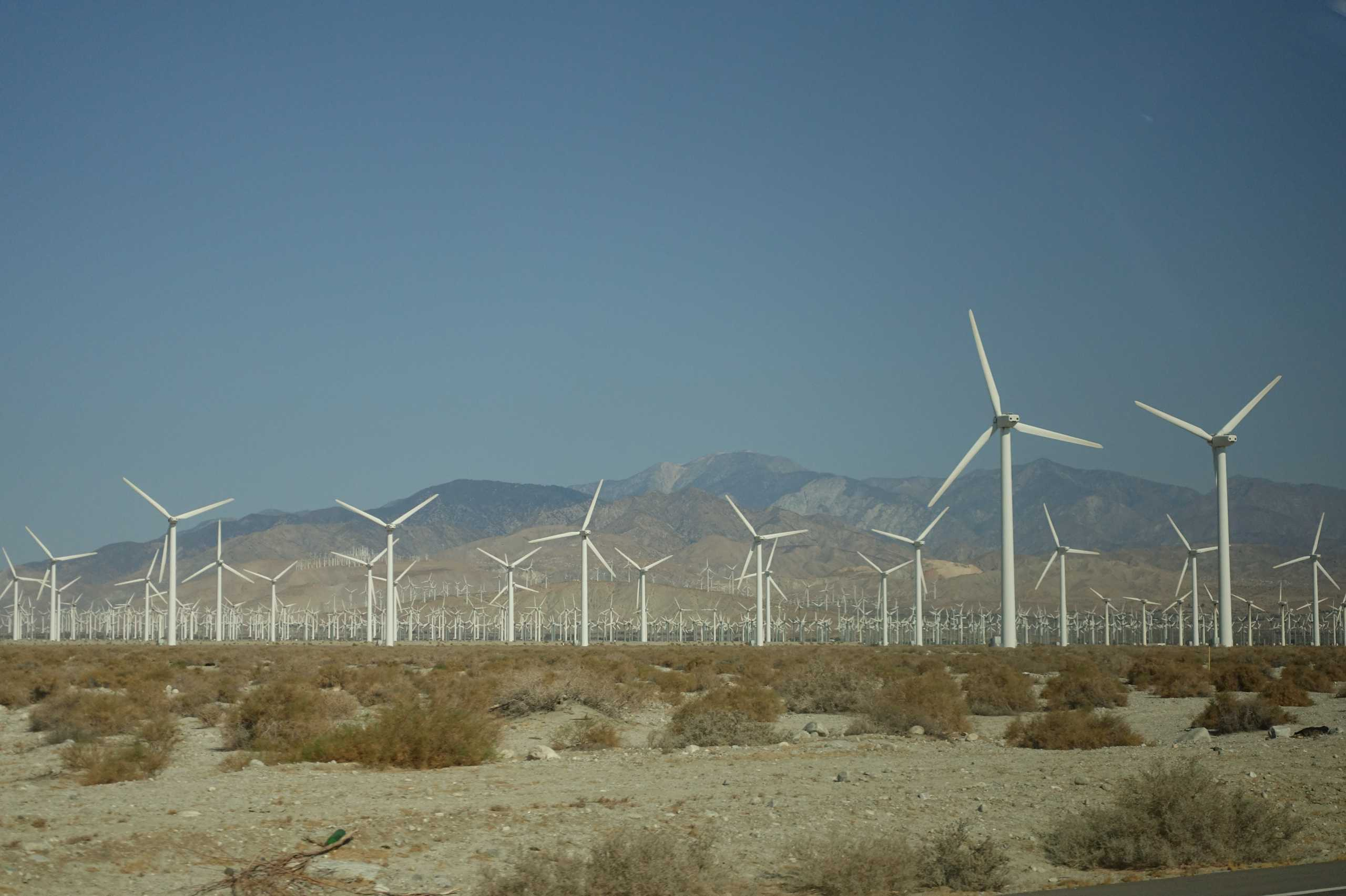 Windpark Palm Springs