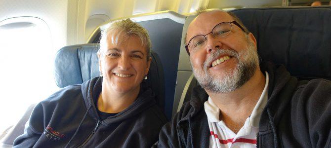 Monica und Reiner unterwegs in die USA