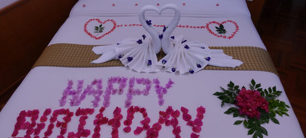 Christa's 50. Geburtstag feiern wir auf Koh Samui