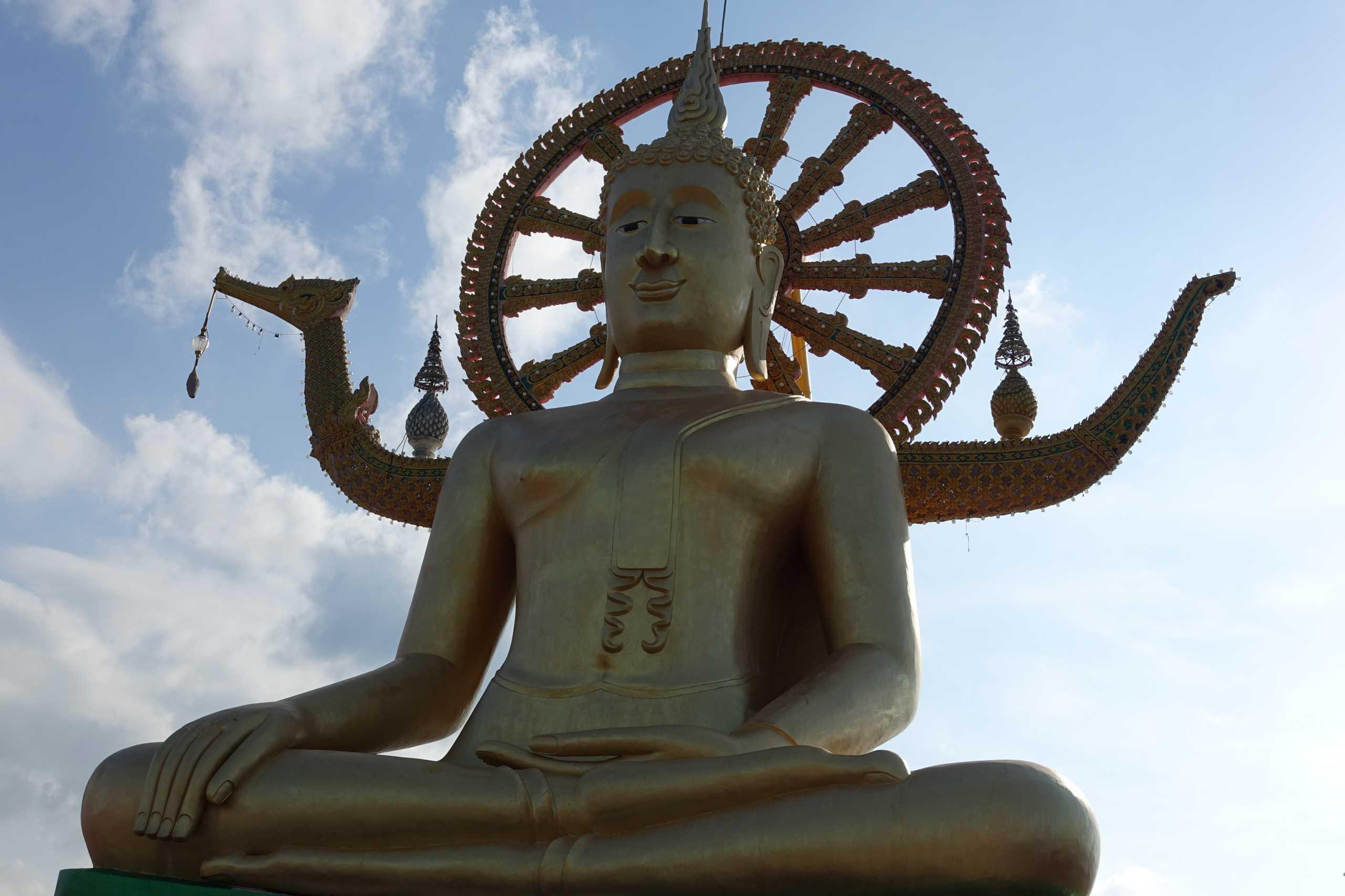 Und hier ist er, der berühmte Big Buddha von Koh Samui